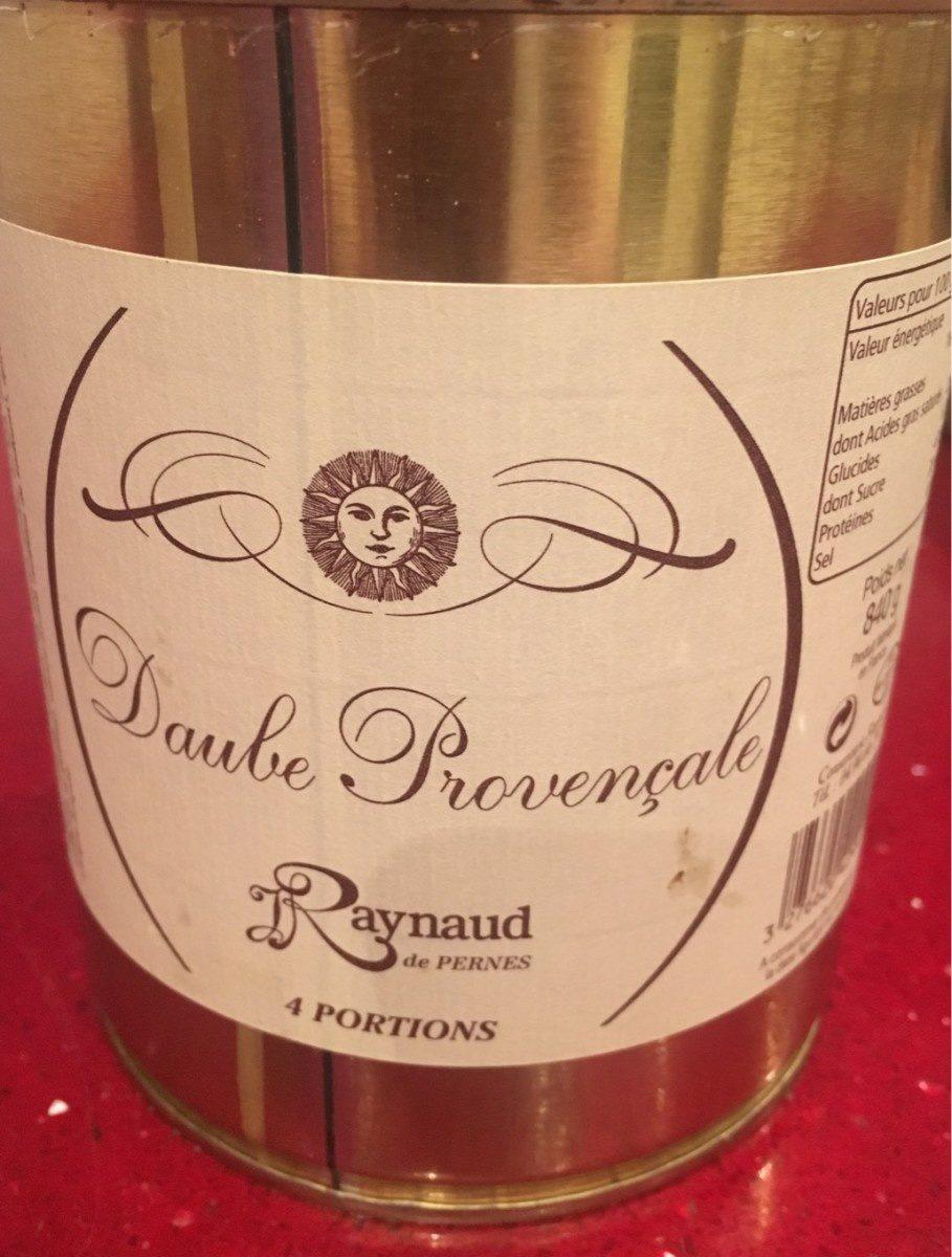 Daube provencale - Produit - fr