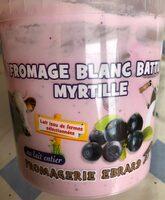 Fromage blanc battu myrtille - Produit - fr