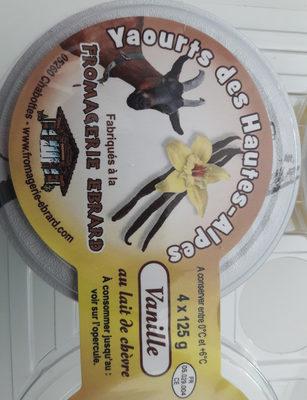 Yaourts des hautes alpes vanille - Product - fr