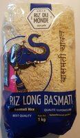 1KG Riz Long Basmati Riz Monde - Product - fr