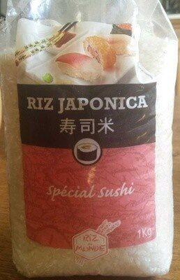 Riz japonica - Produit - fr