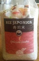 Riz japonica - Produit