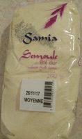 1KG Semoule De Ble Moyenne Samia - Ingrédients