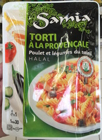 Torti à la Provençale (Poulet et Légumes du Soleil), Halal - Produit