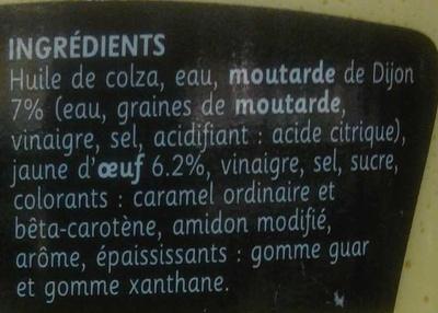 Sauce mayo à la moutarde de Dijon - Samia - 335 g