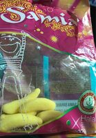 Bonbons Banane halal - Prodotto - fr