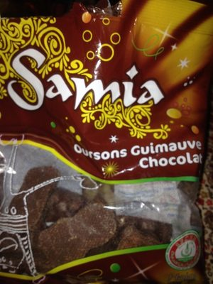 180G Ourson Chocolat Halal Samia - Produit