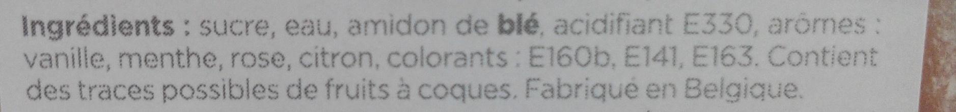 Mini Loukoum - Ingredients - fr