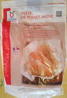 Filets de poulet jaune - Produit