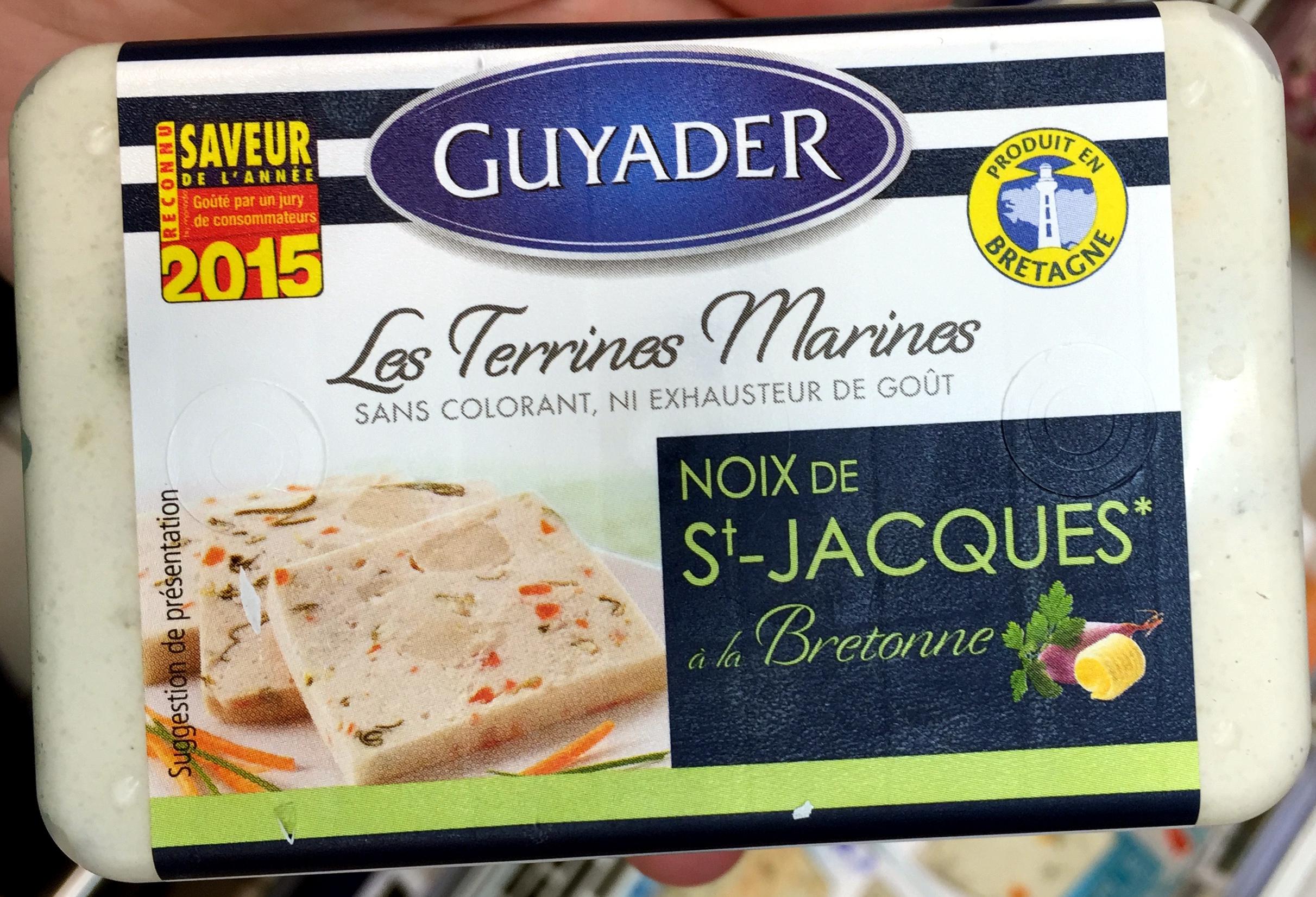 Les Terrines Marines Noix de St-Jacques à la Bretonne - Produit - fr