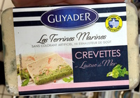 Les Terrines Marines Crevettes et Laitue de Mer - Product