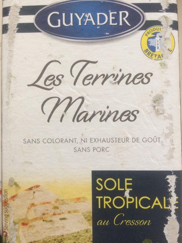Terrine De Sole Tropicale 840 GR, 1 Pièce - Informations nutritionnelles - fr