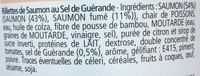 Les Rillettes Marines Saumon au Sel de Guérande - Ingredients