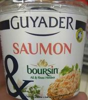 Saumon & Boursin ® Ail et Fines herbes - Product - fr