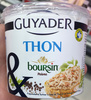 Thon & Boursin echalote & ciboulette - Produit