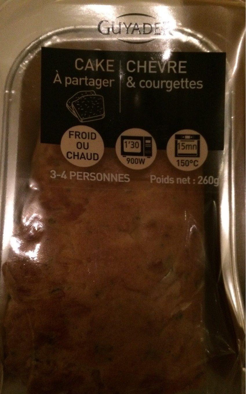 Cake au chèvre et courgette GUYADER - Produit - fr