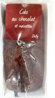 Cake au chocolat et noisette - Produit - fr