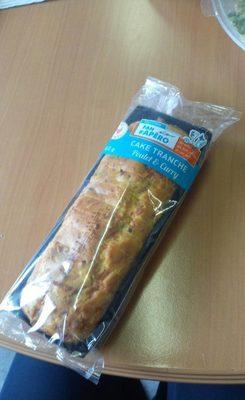 Cake tranché poulet et curry - Product