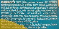Tarti'Kids Thon & Kiri - Ingrédients - fr