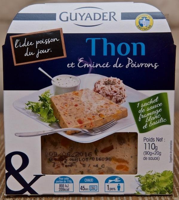 """""""L'idée Poisson du Jour"""" : Thon et Emincé de Poivrons - Product"""