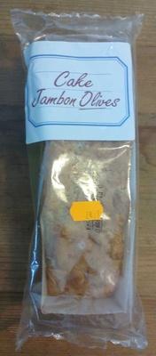 Cake Jambon Olives - Produit - fr