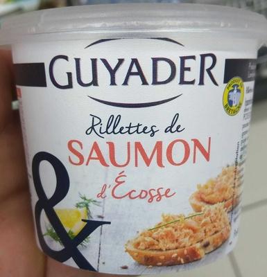 Rillettes de Saumon d'Ecosse - Product - fr