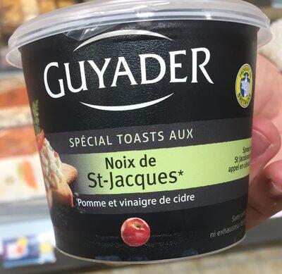 Noix de saint Jacques pomme et vinaigre - Product - fr