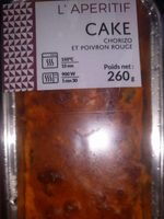 Cake chorizo/poivron rouge - Produit - fr
