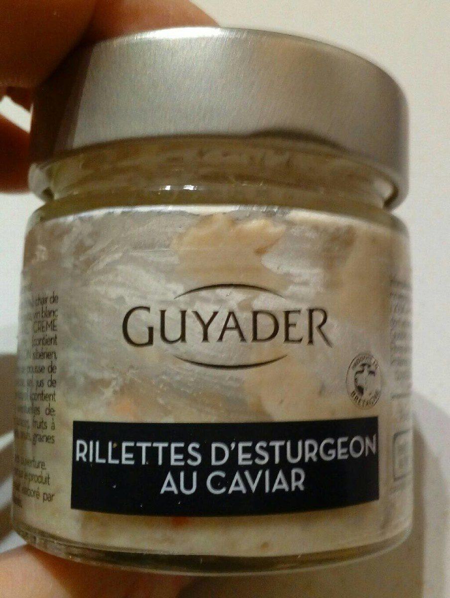 Rillettes d'esturgeon au caviar - Produit - fr