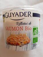 Rillettes de saumon bio - Produit - fr