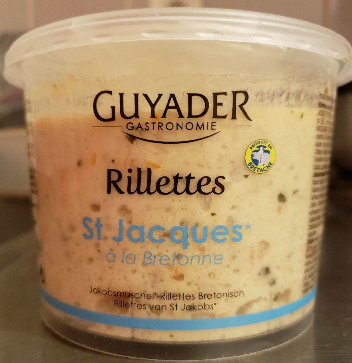 Rillettes St Jacques à la Bretonne - Produit - fr