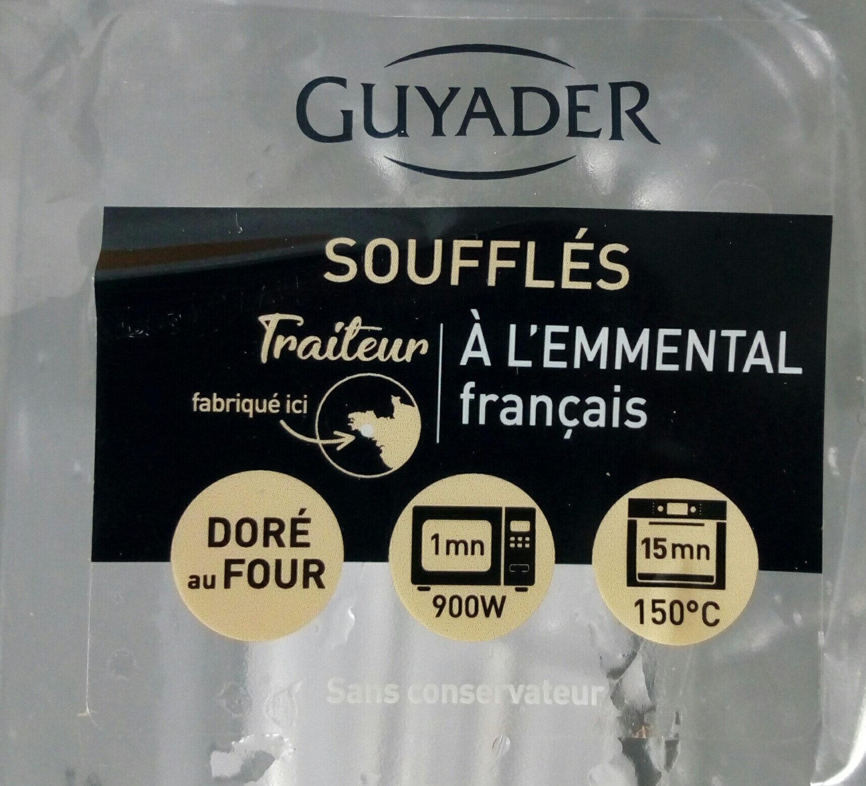 soufflés a l emmental - Produit - fr