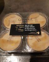 Bloc de foie gras et mandarine au gingembre - Produit - fr