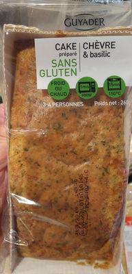 Cake chevre et basilic sans gluten - Product