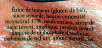 La Galette Goulebenéze - Ingrédients - fr