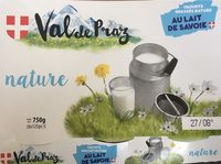 Yaourts brassés nature au lait de Savoie - Product - fr