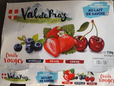 Yaourts sur lit de fruits - Product