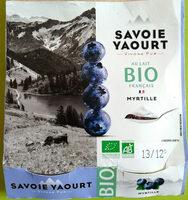 Yaourt sucré à la myrtille , Bio - Prodotto - fr