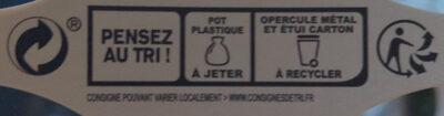 Yaourt sucré à la myrtille , Bio - Istruzioni per il riciclaggio e/o informazioni sull'imballaggio - fr