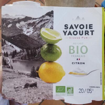 Yaourt sucré citron - Produit - fr