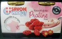 Yaourt à la Praline rose - Produit - fr