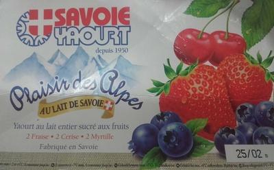 Plaisir des Alpes - Produit
