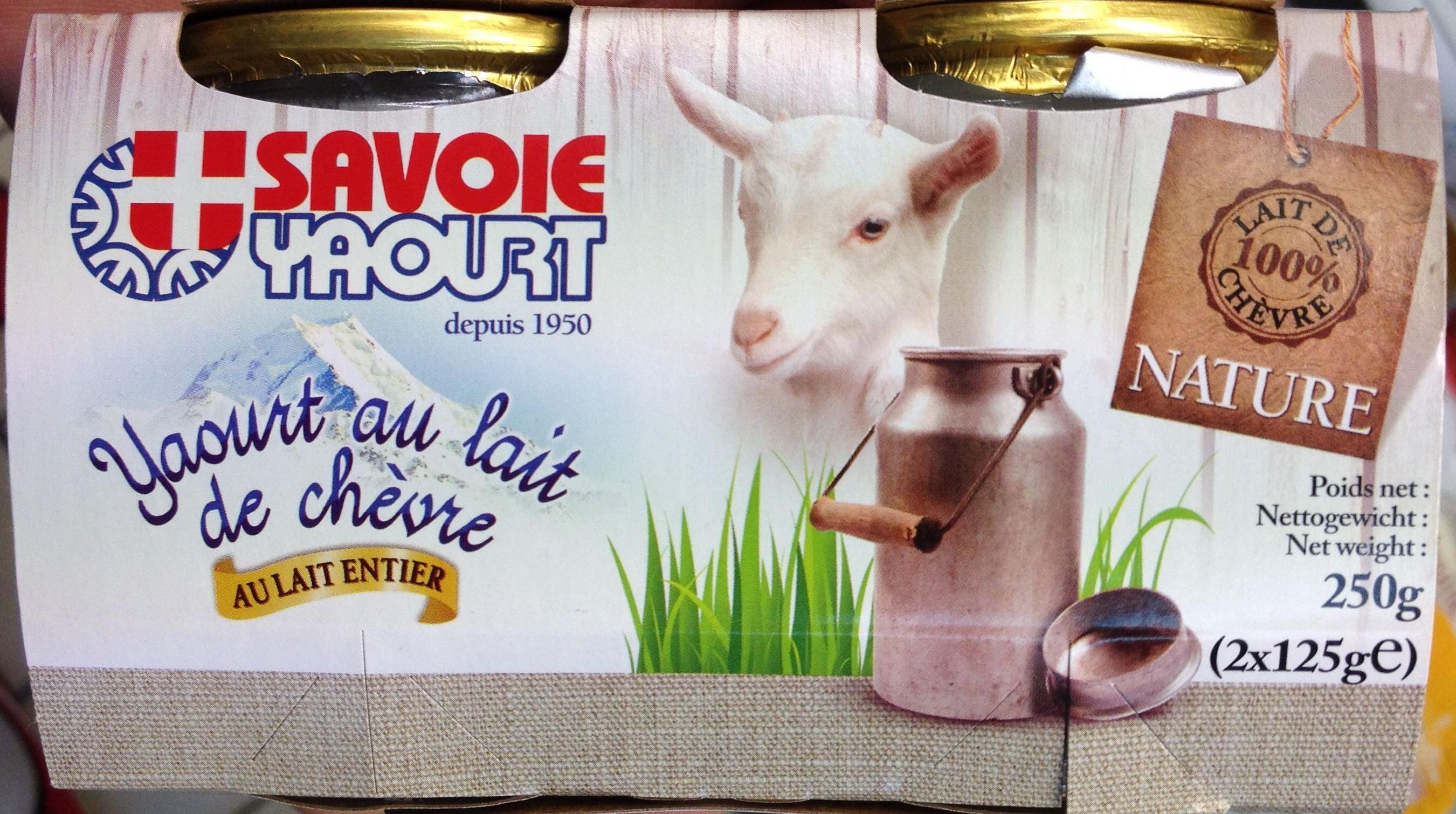 Yaourt au lait de ch vre nature savoie yaourt 250 g 2 - Yaourt maison lait de chevre ...