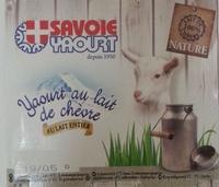 Savoie yaourt au lait de chèvre - Product - fr