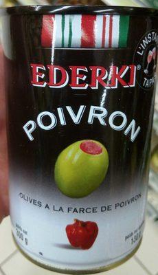 Olives au Poivron - Produit