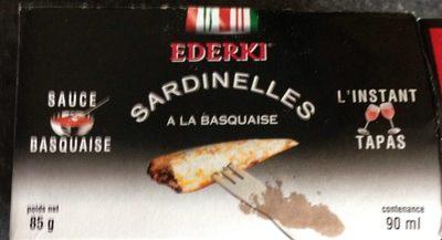Sardinelles à La Basquaise - Product - fr