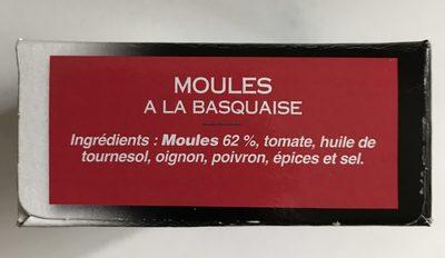 Moules sauce basquaise EDERKI - Ingrédients - fr