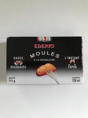 Moules sauce basquaise EDERKI - Informations nutritionnelles - fr