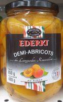 Demi-Abricots du Languedoc Roussillon au Sirop - Product - fr