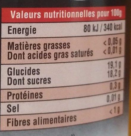 Demi-Abricots du Languedoc Roussillon au Sirop - Nutrition facts - fr